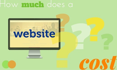 Graphic for How much does a Website cost blog