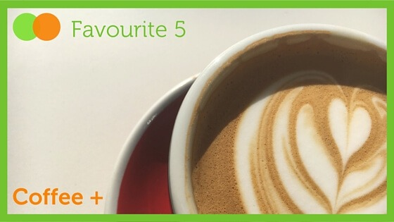 Graphic for Favourite Five Coffee+