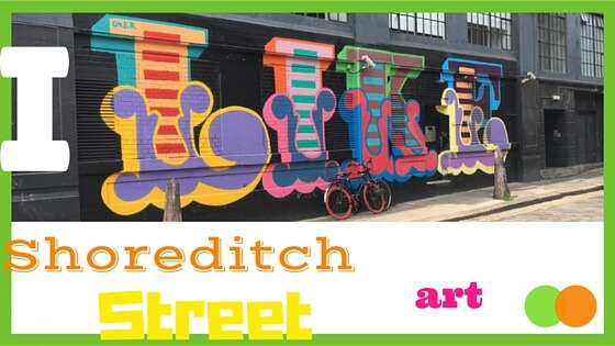 Grahic for Favourite Five Shoreditch Street Art blog