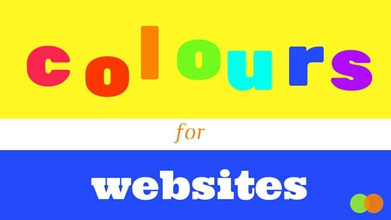 Website colours graphic for blog