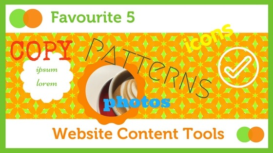 Graphic for website content blog