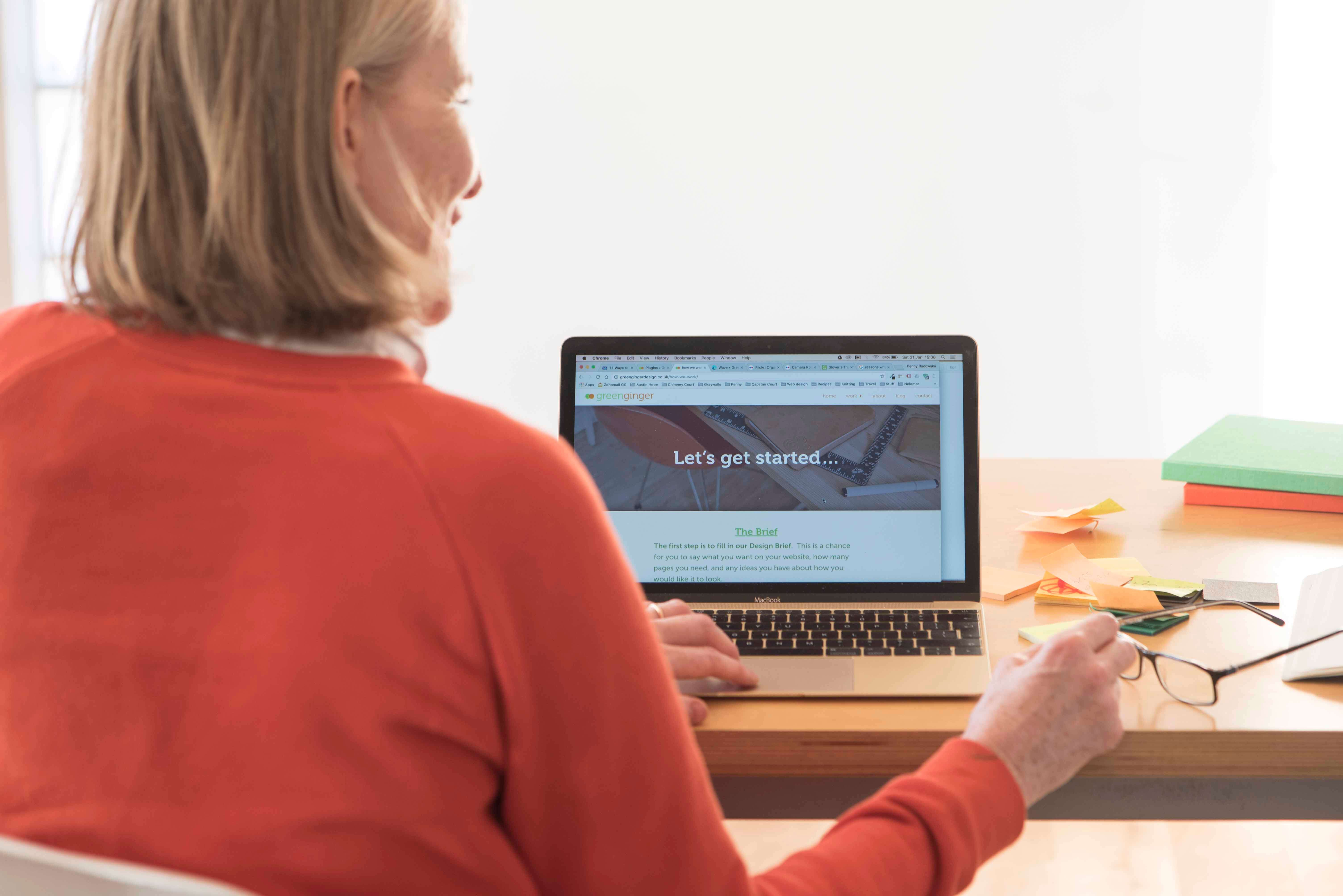 Penny Badowska - website designer at Green Ginger Design