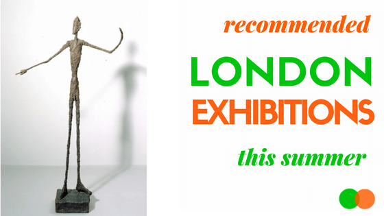 Top 5 London Summer Exhibitions