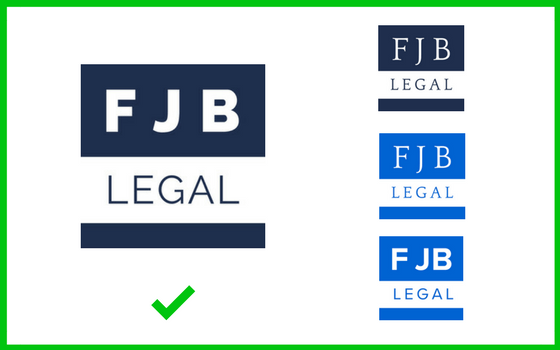 FJB Legal Design ID variations for Design ID blog