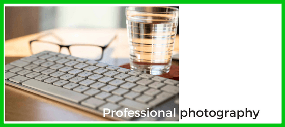 Professional photography graphic for website re-design blog