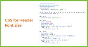 CSS for Green Ginger Design website for Website Jargon blog
