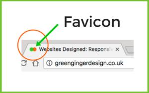 Favicon for Green Ginger Design website for Website Jargon blog