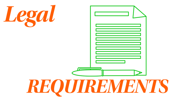 Legal requirements graphic for Website Updating blog