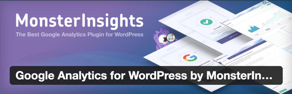 Monster Insights WordPress Plugins screenshot