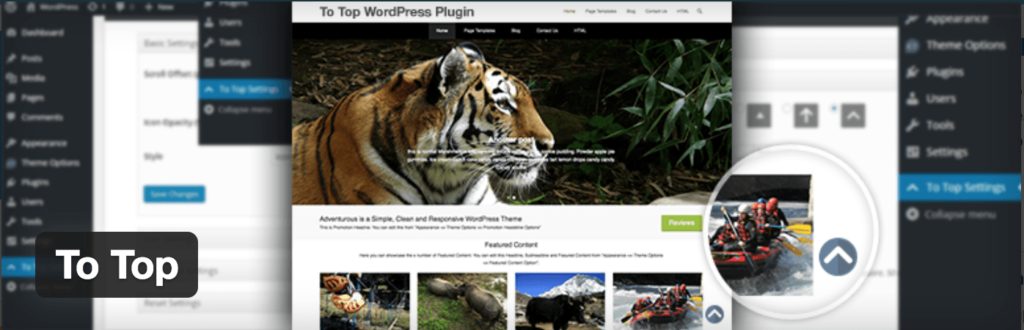To Top WordPress Plugin screenshot